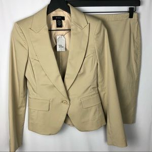 BODY by Victoria tan suit